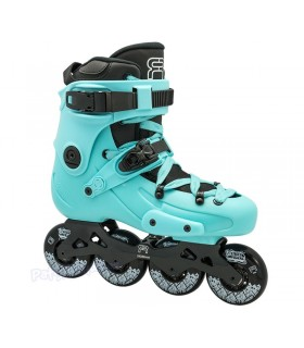 Patines Freeskate FR1 80 Azul Claro Adulto