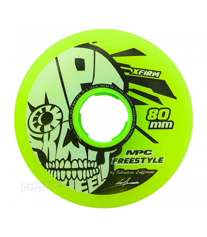 Rueda MPC Freestyle X-Firm Amarilla
