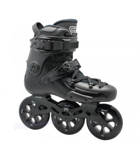 Patin Freeskate FR1 3D 310 Negro Adulto