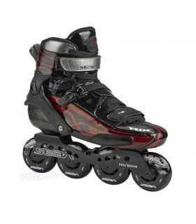 Patines Freestyle Seba Trix Black/Red 10º Aniversario Adulto