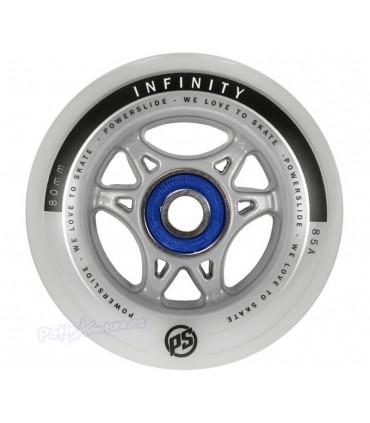 Ruedas Freeskate Powerslide Infinity II 80mm 84A + ABEC5 Sample