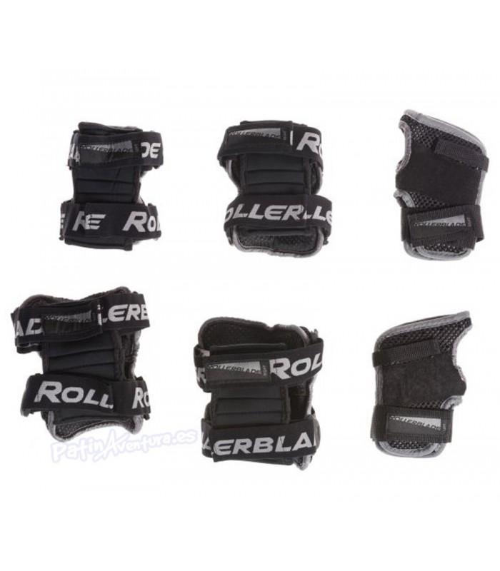 Protecciones Rollerblade X-gear Pack3 Adulto