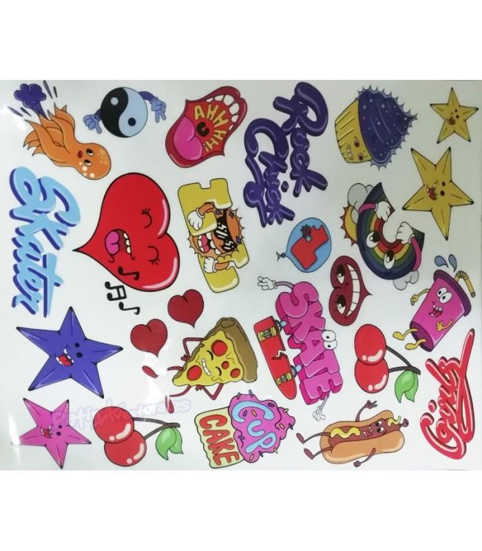 Casco Integral SFR Essentials Stickers Gloss