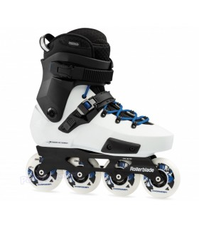 Patín Freeskate Rollerblade Twister Edge X Blanco/Royal Adulto