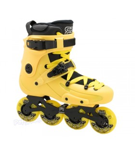 Patines Freeskate FR1 80 Amarillo Adulto