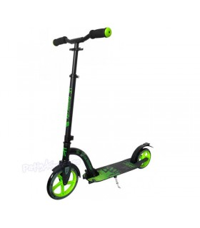 Patinete Scooter Paseo Premier City 230 - 180 Negro/Verde Adulto