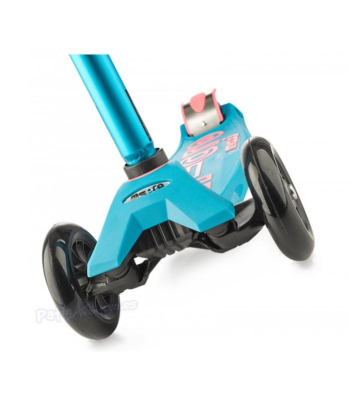 Patinete Scooter Maxi Micro Deluxe Aqua Led Niños/Infantil