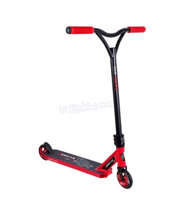 Patinete Scooter Freestyle BoosterB16 Bestial Wolf Rojo