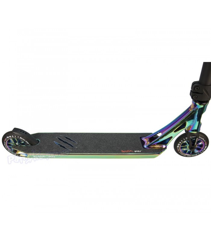 Patinete Scooter Freestyle Killer K6 Bestial Wolf Rainbow