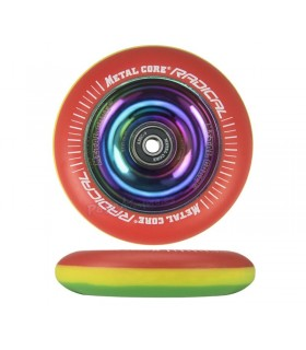Rueda Patinete Freestyle Metal Core Radical Rasta 100mm