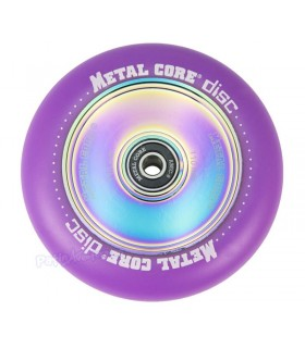 Rueda Patinete Freestyle Metal Core Violeta Núcleo Rainbow 110mm