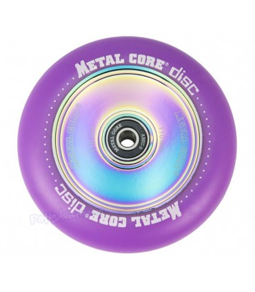 Rueda Patinete Freestyle Metal Core Violeta Núcleo Rainbow 110mm