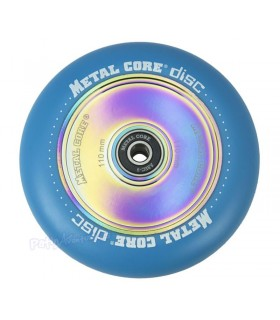 Rueda Patinete Freestyle Metal Core Azul Núcleo Rainbow 110mm
