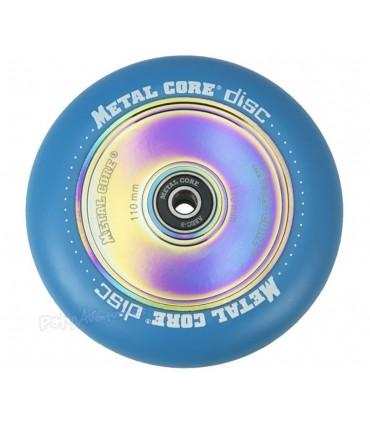 Rueda Patinete Freestyle Metal Core Azul Núcleo Rainbow 110mm