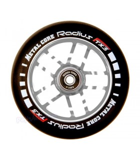 Rueda Patinete Scooter Freestyle Metal Core Radius Silver 120mm