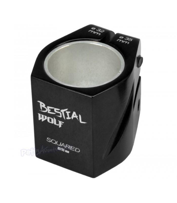 Compresor Clamp Squared141 Negro 32/35mm Doble