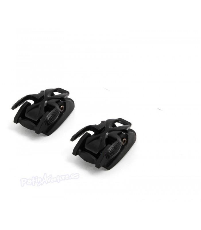 Cierre Carbon Spider + Buckle Seba Set 2 Unidades