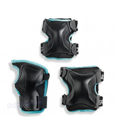 Protecciones Rollerblade X-gear Woman Pack3 Adulto