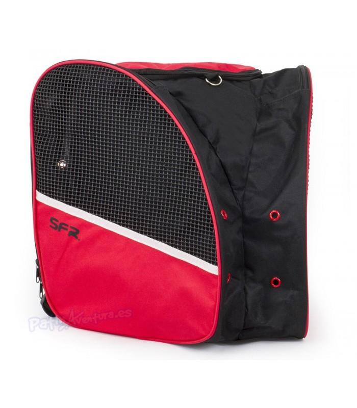 Bolsa Porta Patines Quad SFR Negro Rojo