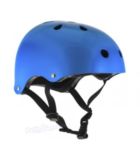 Casco Integral SFR Essentials Azul Gloss Metalico Niños/as