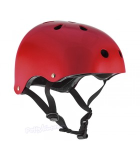 Casco Integral SFR Essentials Rojo Gloss Metalico Niños/as