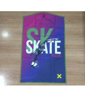 Funda Portatrajes Para Maillot Silver Swan Skate Roller Azul/Violeta/Fucsia