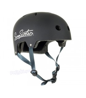 Casco Integral Slamm Negro Mate Sticker