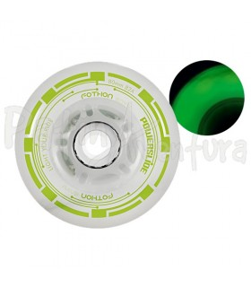 Ruedas Con Luz Led Fothon Envy Verde PS