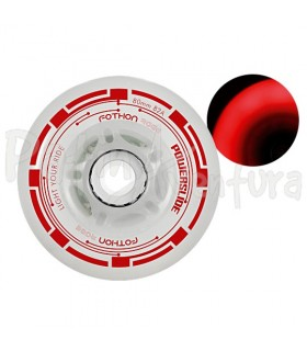Ruedas Luces Led Fothon Rage Rojo PS