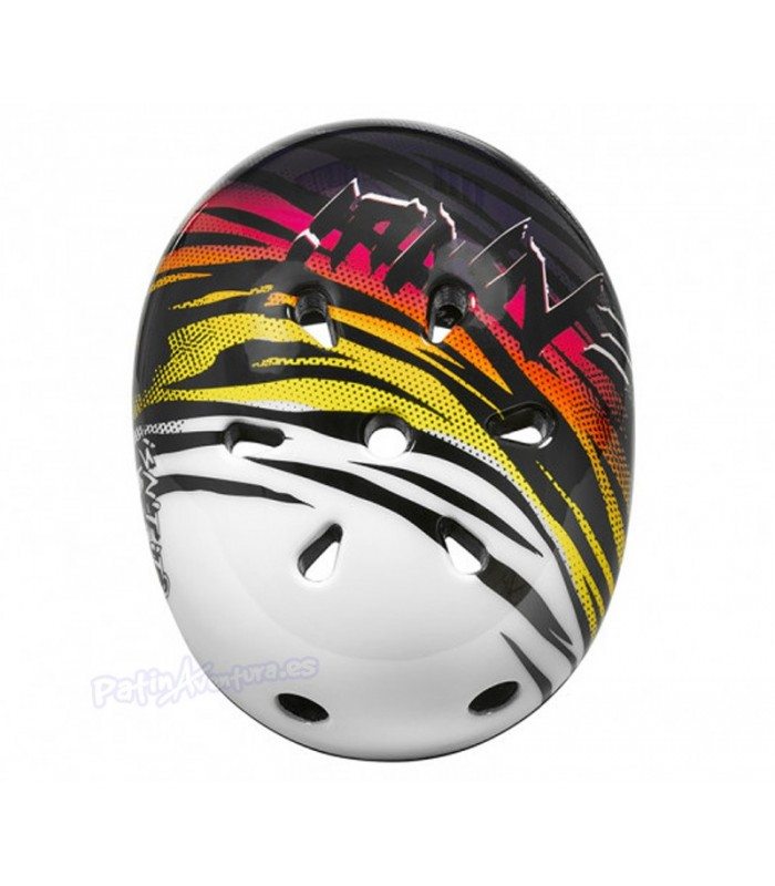 Casco Ennui Elite Neon Tiger