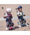 Patinete Scooter Mini Micro 3en1 Deluxe Plus Azul Niños/Infantil