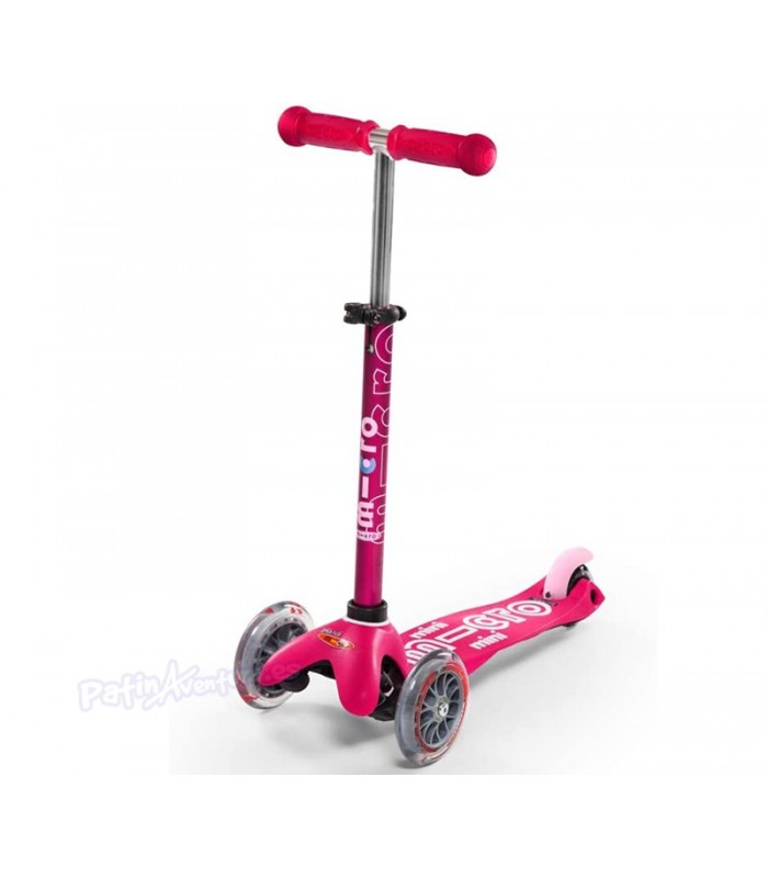 Patinete Scooter Mini Micro 3en1 Deluxe Plus Rosa Niñas/Infantil