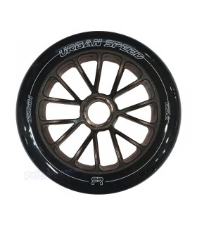 Ruedas Fitness FR Urban Speed 125mm 85A Negra