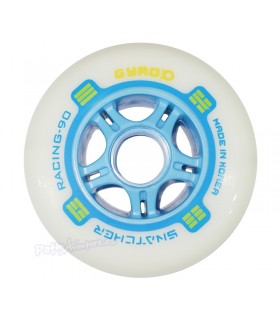 Ruedas Freeskate Gyro Snatcher 90mm 85A Azul