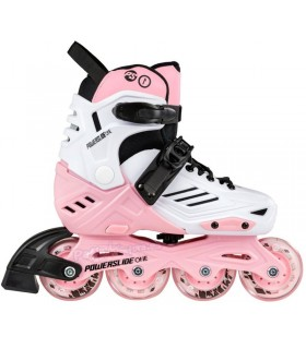 Patines Powerslide One Urban Khaan LTD Kids Rosa Niños