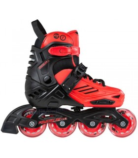 Patines Powerslide One Urban Khaan LTD Kids Rojo Niños