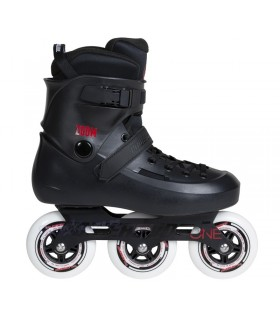 Patines Freeskate Powerslide Zoom Negro 100mm Adulto