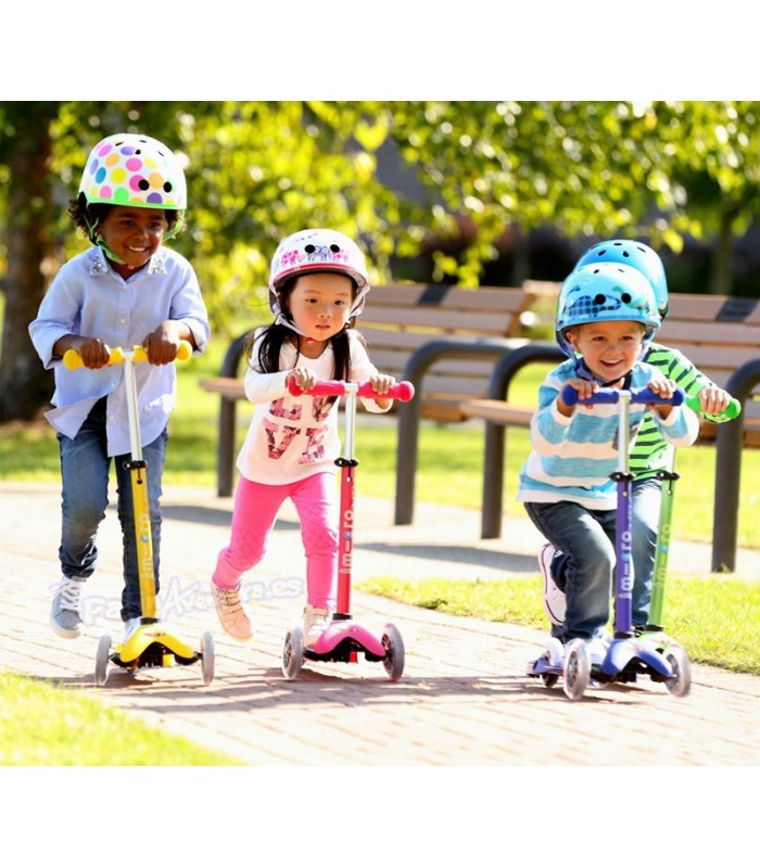 Patinete Scooter Mini Micro Deluxe Rosa Infantil