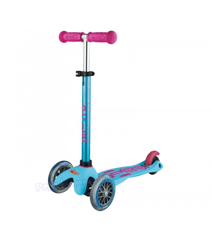 Patinete Scooter Mini Micro Deluxe Azul Candy Infantil