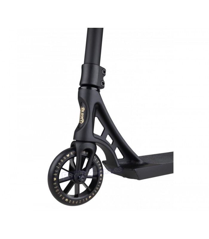Patinete Scooter Freestyle Blazer Pro Raider Negro/Dorado 540mm