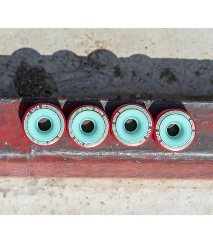 Ruedas Patines Quad Octo Drift Roller Derby 59mm 100A