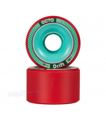 Ruedas Patines Quad Octo Drift Roller Derby 59mm 100A