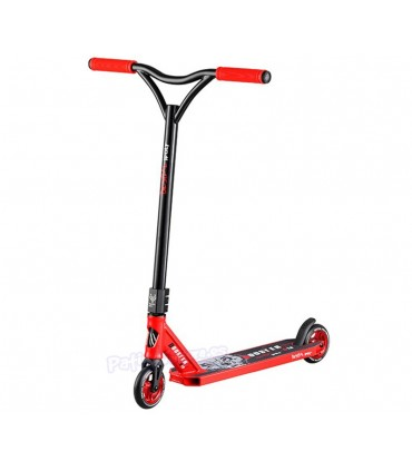 Patinete Scooter Freestyle Booster B18 Bestial Wolf Rojo