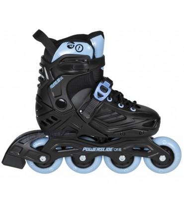 Patines Powerslide One Urban Khaan LTD Kids Negro/Azul Niños