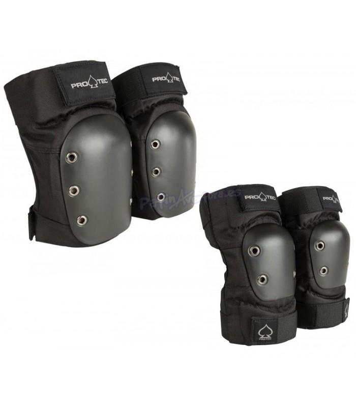 Set Protecciones Pro-Tec Street Pack2 Adulto