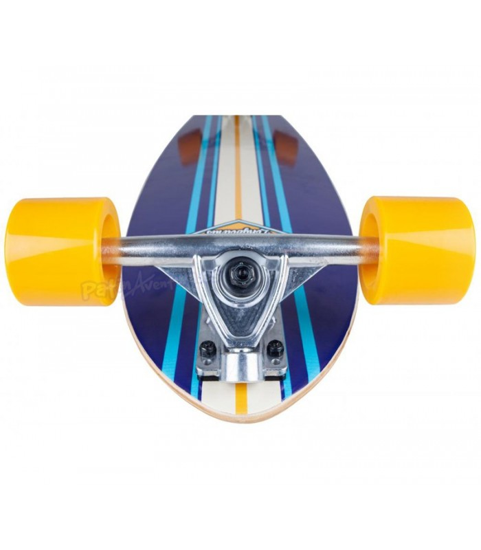 "Longboard D Street Pintail Ocean Azul 35"""