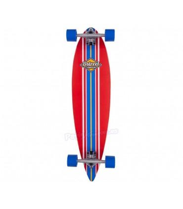 """Longboard D Street Pintail Ocean Rojo 35"""""""
