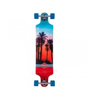 Longboard D Street Drop Down Hawaiian 38""