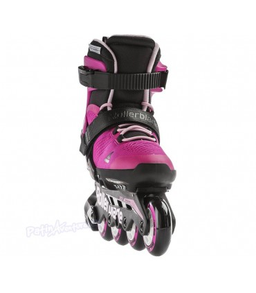 Patines Fitness Rollerblade Microblade G Niñas Fucsia
