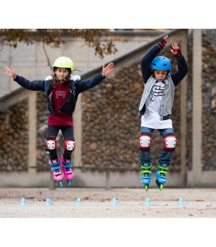 Patines Freeskate FR-EZX Junior Azul Niños/as